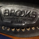 How to lace a Brooks saddle.