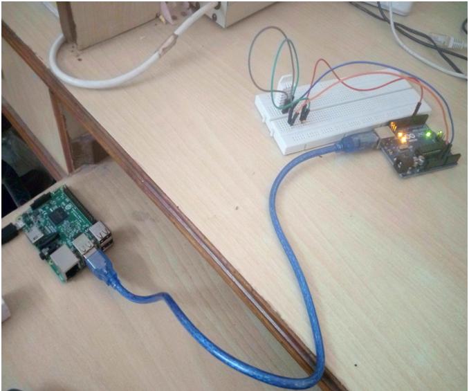 Serial Data From Arduino to Raspberry Pi to MySQL Using CoAP Protocol