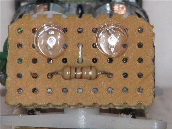 The Carpet Crawler - a BEAM Robot.