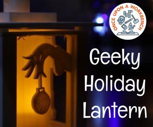 Geeky Holiday Lantern