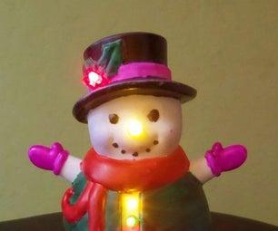 Illuminating Vinyl Holiday Characters