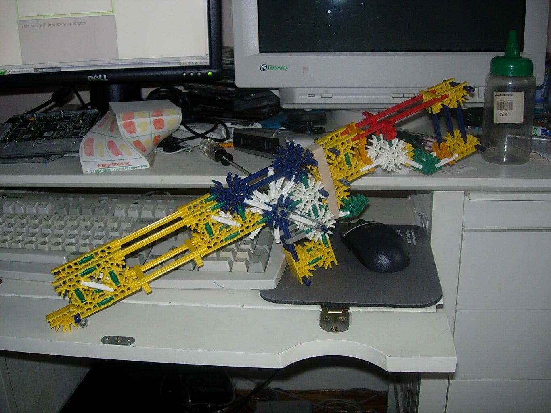 Semi-auto K'NEX Gun