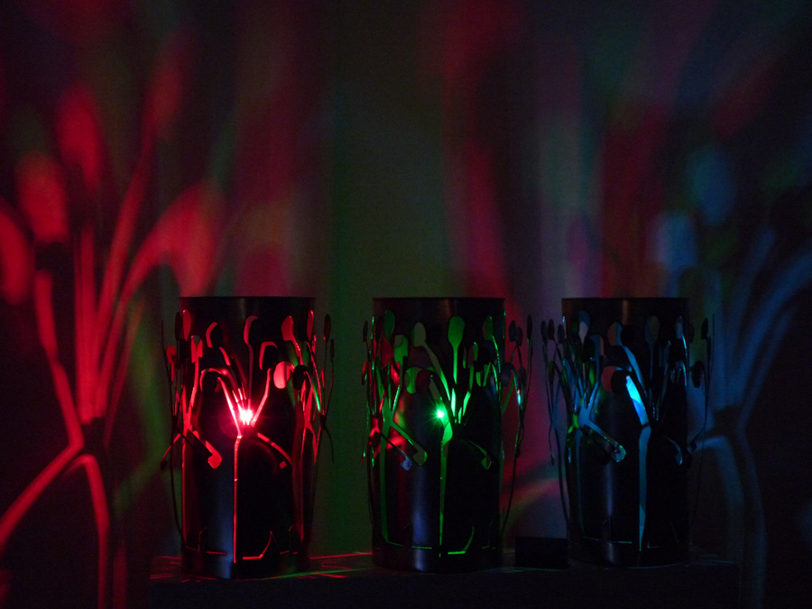 Steel Lamps