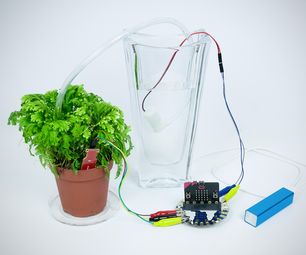 Micro:bit Enabled Plant Watering System