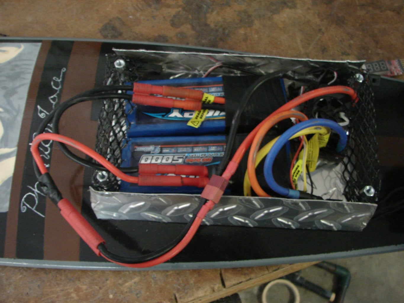 Wiring the Electronics