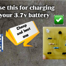 How to Make 3.7v Battery Charge Protect Circuit
