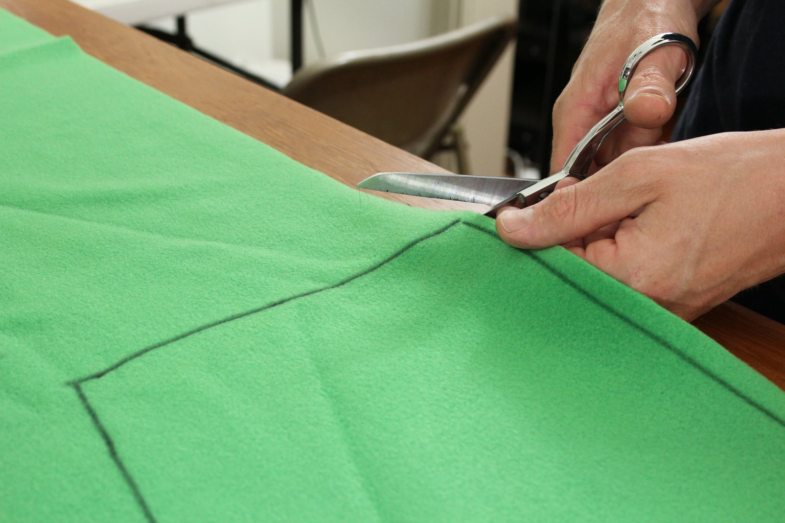Cutting the Back Pattern