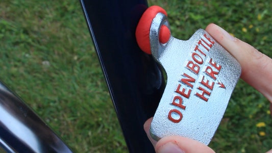 Attach the Opener to Your Bike