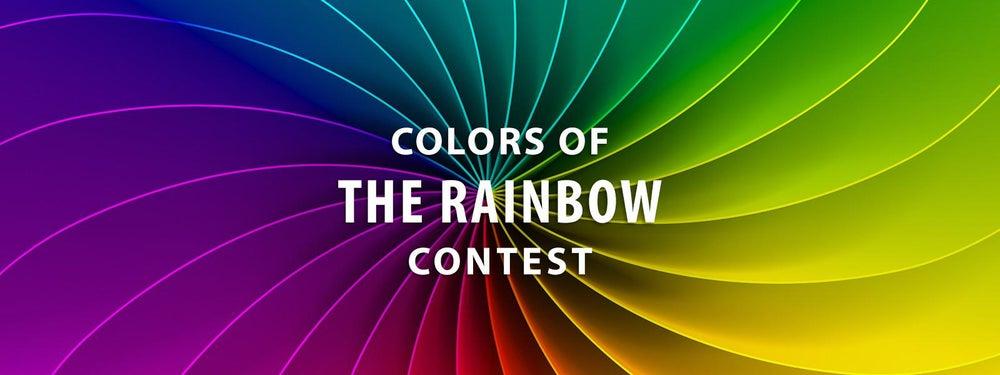 彩虹比赛的颜色