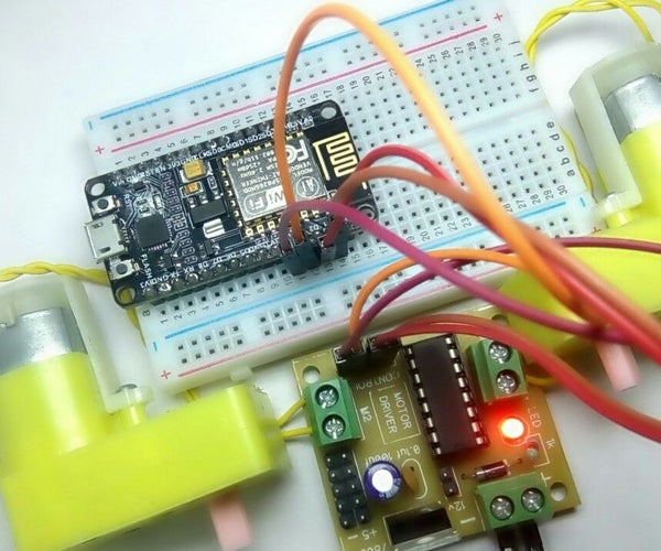 Get Started With L293D Using NodeMCU