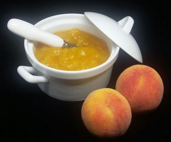 Three Ingredient Easy Peach Jam