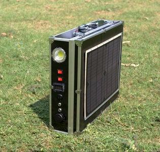 DIY Solar Power Generator V1.0