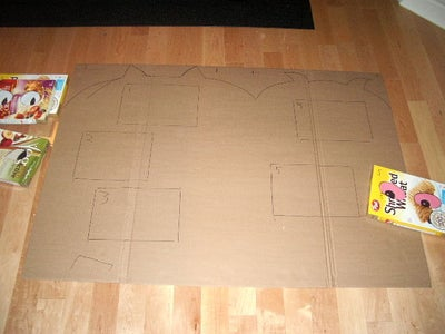 Place the Boxes on the Cardboard
