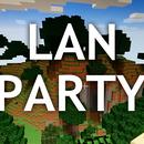 Minecraft LAN party setup