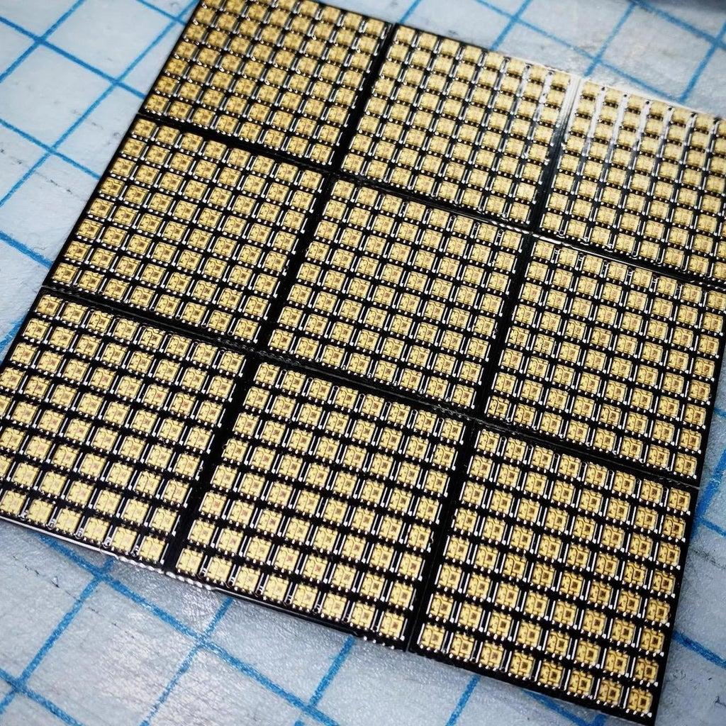 Follow the Example LED Matrix Code