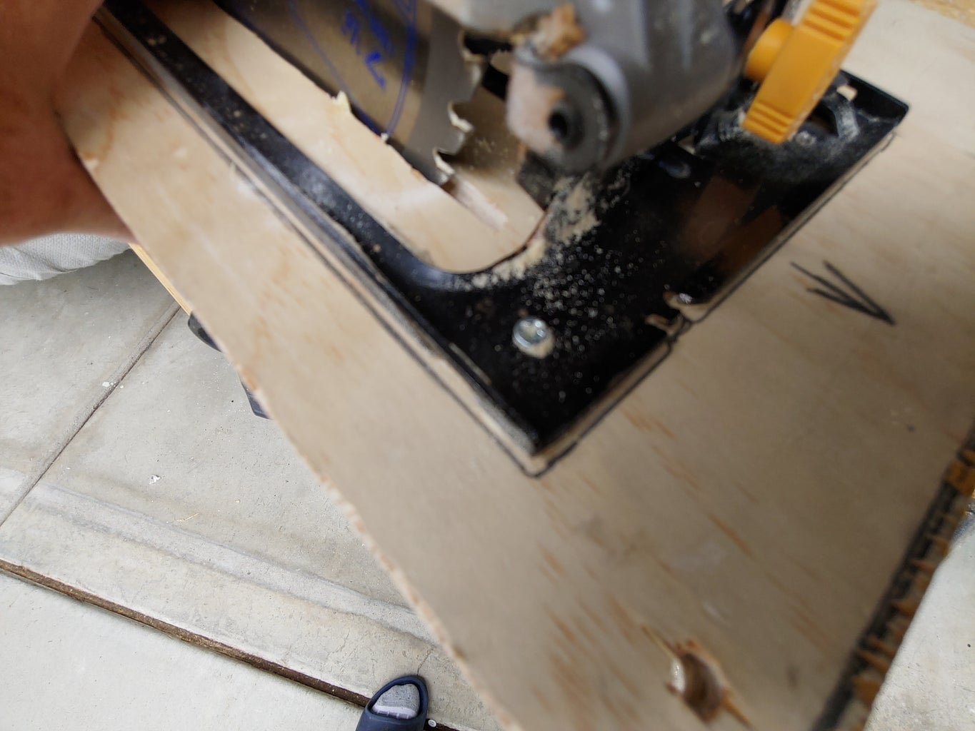 Plywood Top-