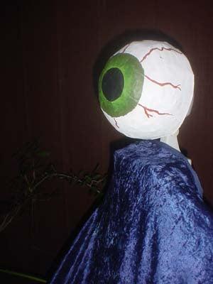 Animatronic Eyeball Monster