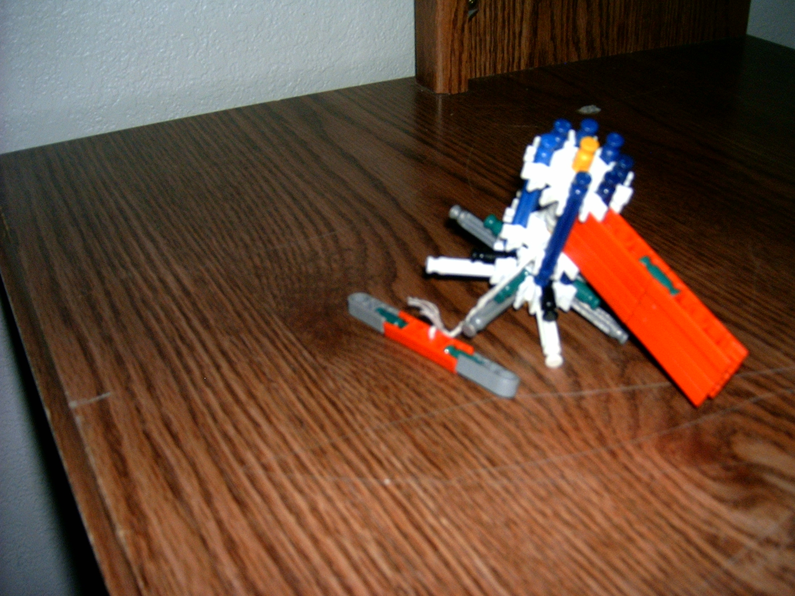 Knex Spinning Pull Top.