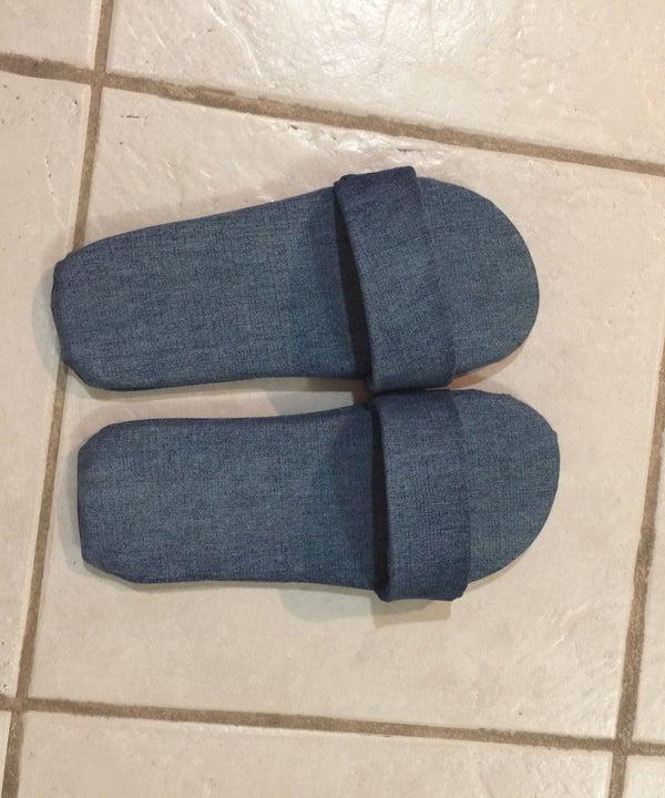 DIY Jean Flip-Flops