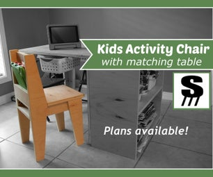 Kids Activity Chair (and Table)