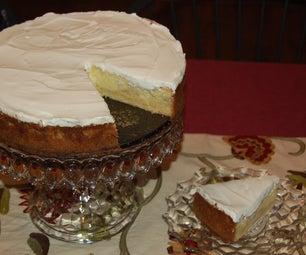 Coffee and Caramel Cheesecake