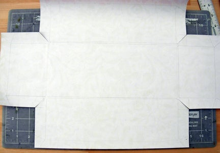 Cutting Out Your Covering Paper
