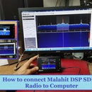 How to Connect the Malahit DSP SDR Radio Receiver to the Computer on SDR#