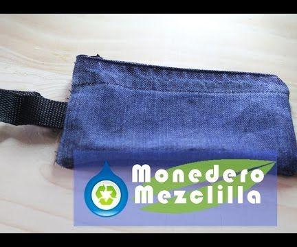 Monedero De Mezclilla