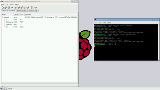 Sqlite3 Making a Database.