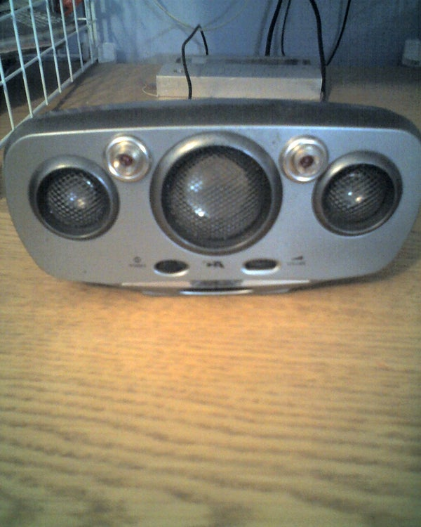 Add Beat Lamps to Your Portable Speakers or Pc Speaker...