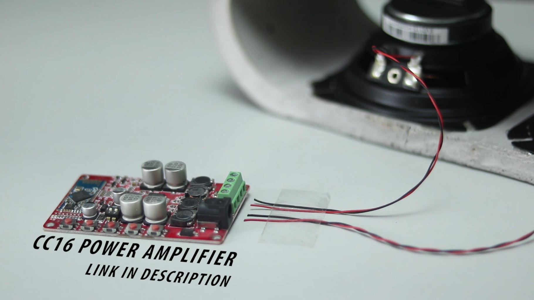 Connect Speaker With Amplifier