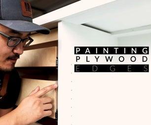 Painting Plywood Edges