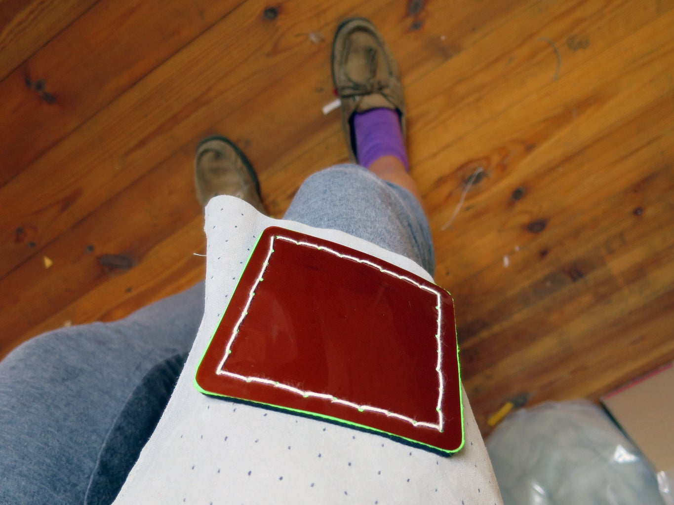 Example: Pegboard Fabric Solder Surface