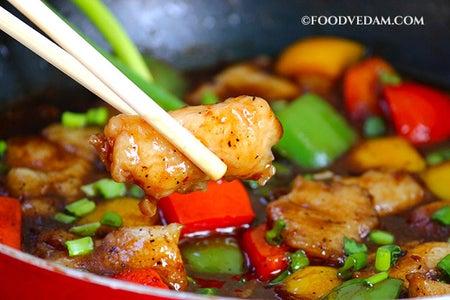 Chili Fish Manchurian