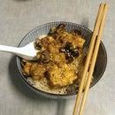 Slow Cooked Teriyaki Waffle Tofu