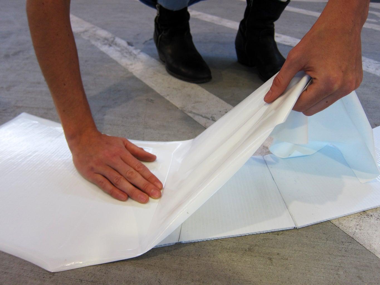 Attach Vinyl, or Paint