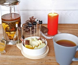 Warming Tea With Spices and Fruits