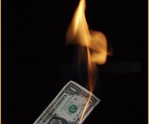Making Money That Doesn't Burn