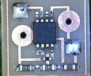 Micro 555 Timer Circuit
