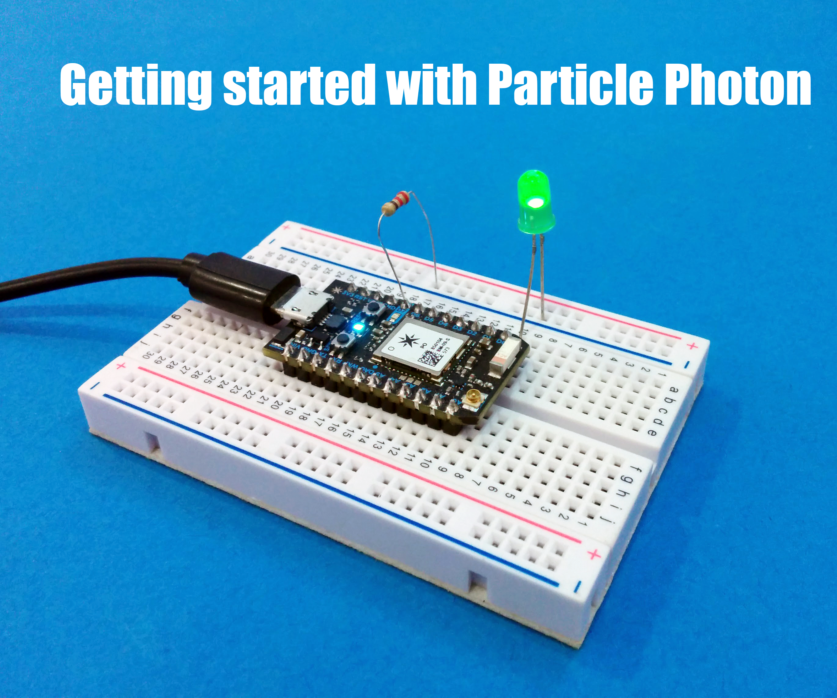 Getting Started With the Particle Photon (Internet Controlled LEDs)