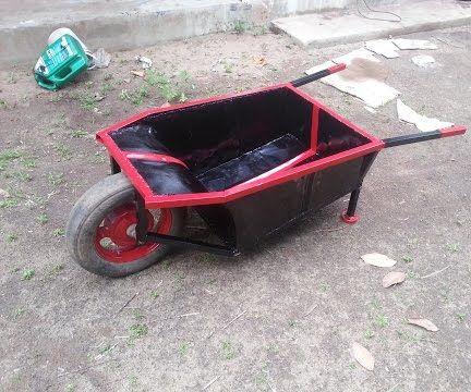 DIY Wheel Barrel