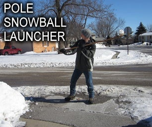 Pole Snowball Launcher