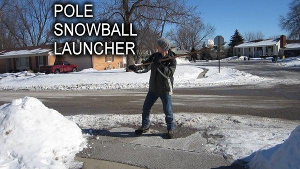 Pole Snowball Launcher