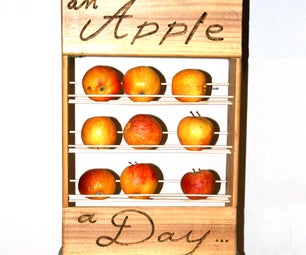 Health Fruit Rack : an Apple for the Road.