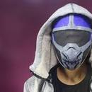 Taskmaster Mask With Cardboard