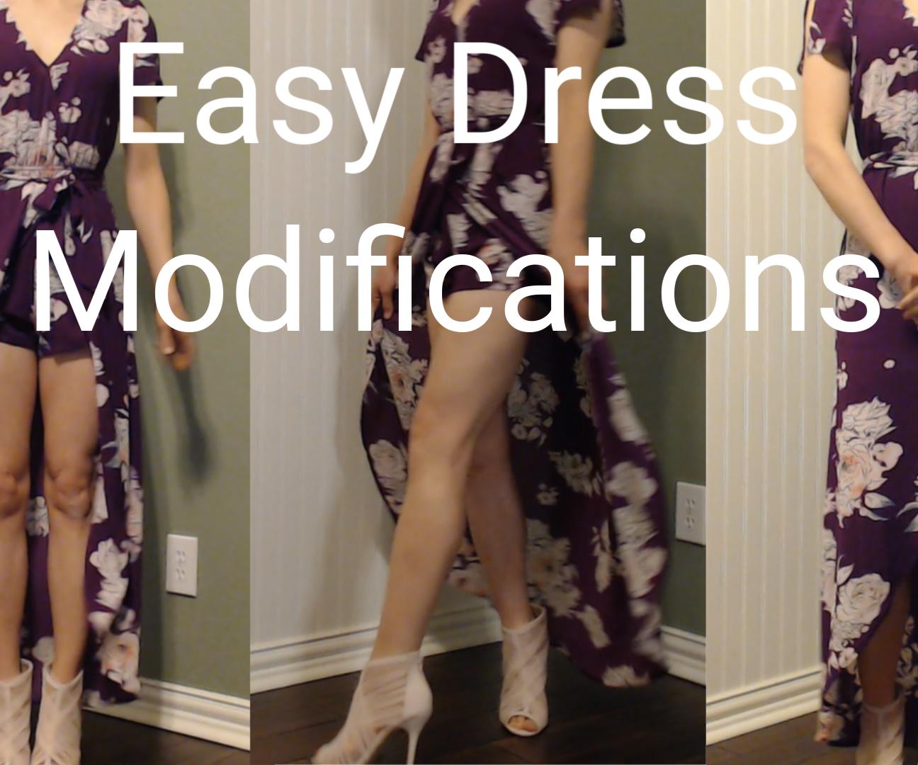 Easy Dress Modifications