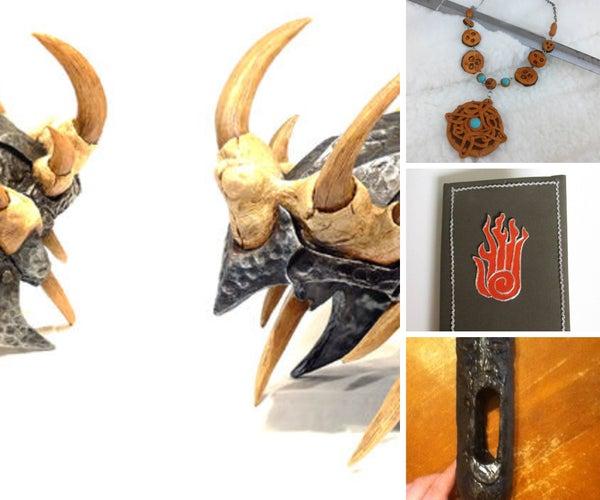 Skyrim Elder Scrolls Props and Acessories