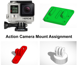Action Camera Mount Assignment