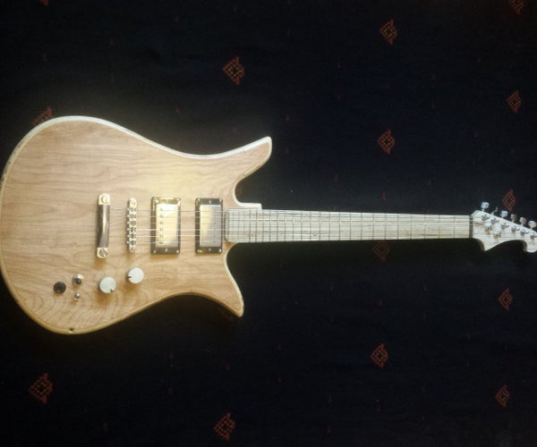 Fully Plywood Guitar AKA How to Annoy Purists