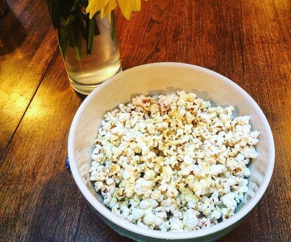 Best Ever Stove-top Popcorn